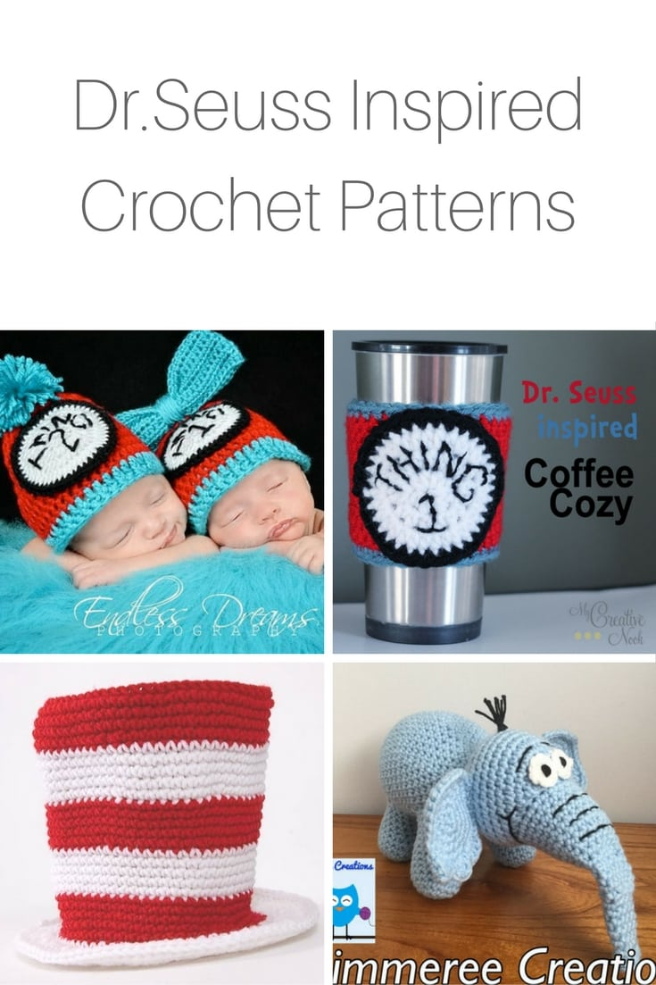 Dr. Seuss Inspired Crochet Patterns
