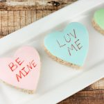 Conversation Heart Rice Krispie Treats Recipe
