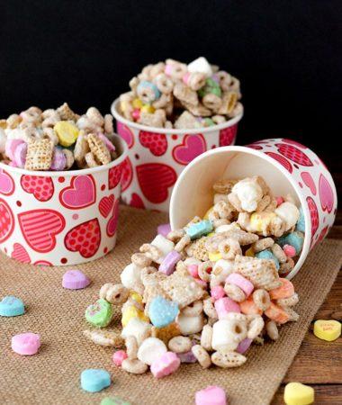 Valentine's Day Snack Mix