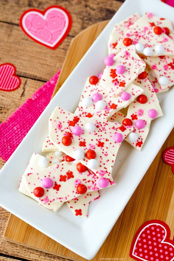 Valentine's Day Bark Recipe