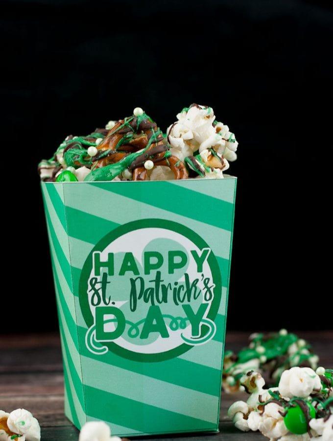 St. Patrick's Day Treat Box Printable