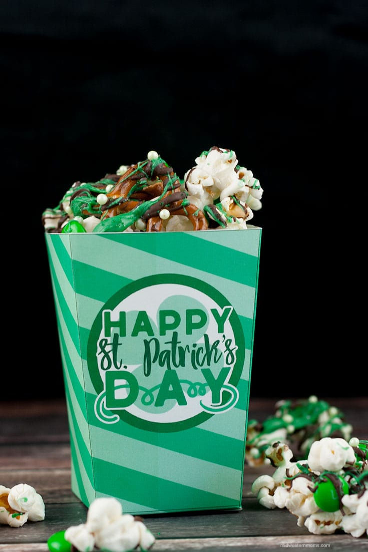 St. Patrick's Day Treat Box Printable