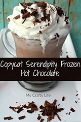 Copycat Cerendipity Frozen Hot Chocolate
