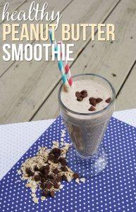 Simple Peanut Butter Smoothie Recipe