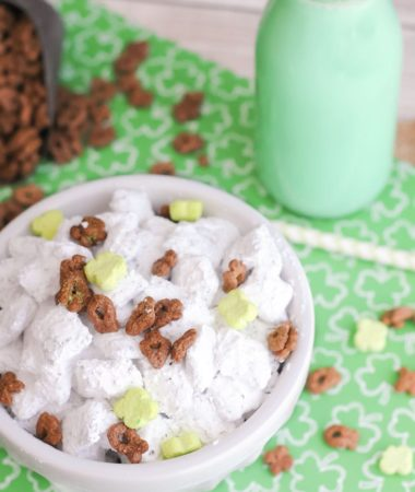 St. Patrick's Day Puppy Chow Recipe