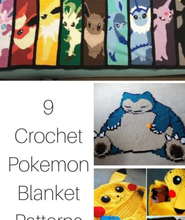 Crochet Pokemon Blanket Patterns