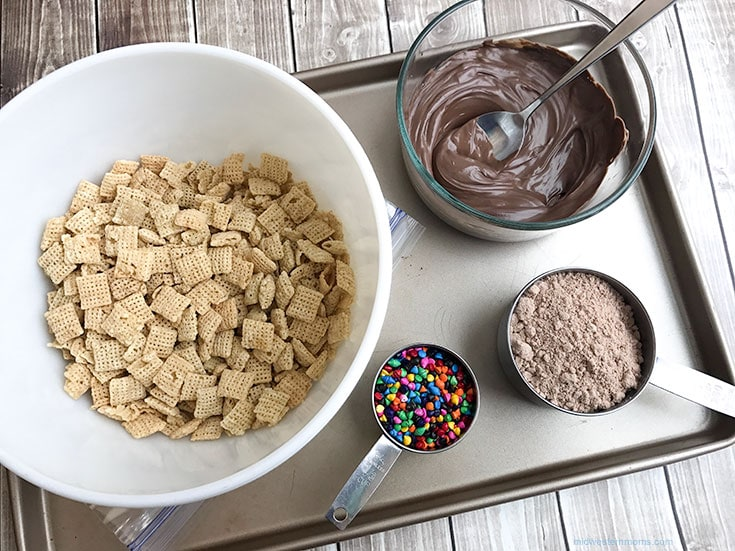 Cosmic Puppy Chow Ingredients
