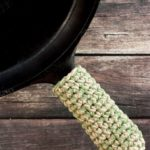 Crochet Cast Iron Skillet Handle Cover Pattern