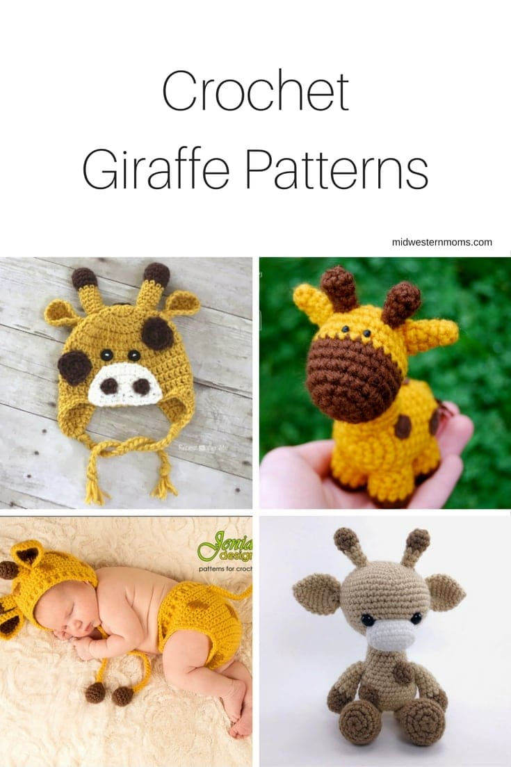 Sleeping Giraffe Amigurumi free crochet pattern - Amigu World | 1103x735