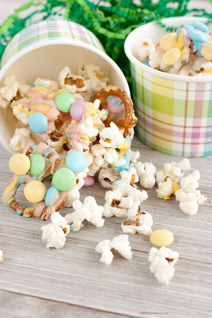 Easter Popcorn Snack Mix Recipe