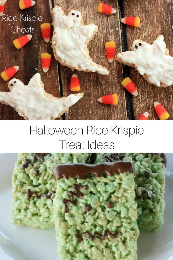 Halloween Rice Crispy Treat Ideas
