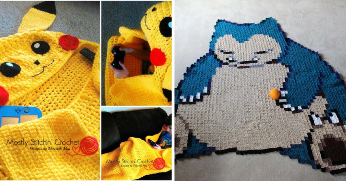 Crochet Pokemon Blanket Patterns