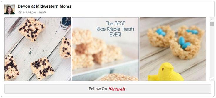 Rice Krispie Treats on Pinterest