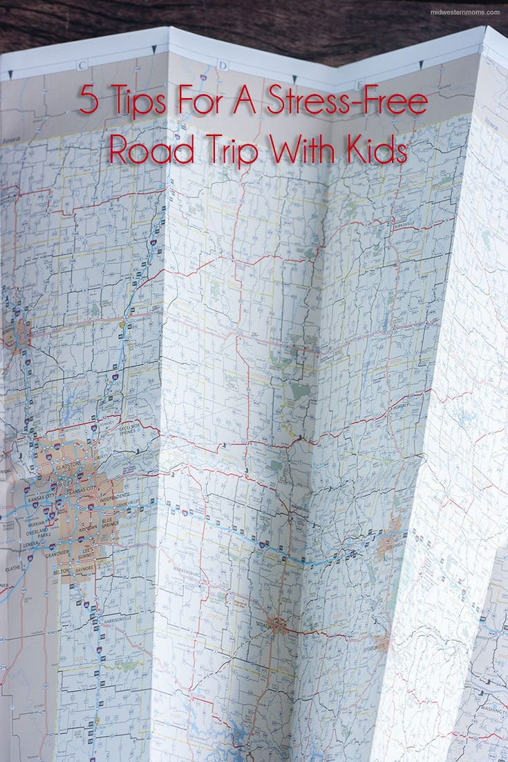 5 tips for a stress-free road trip with kids