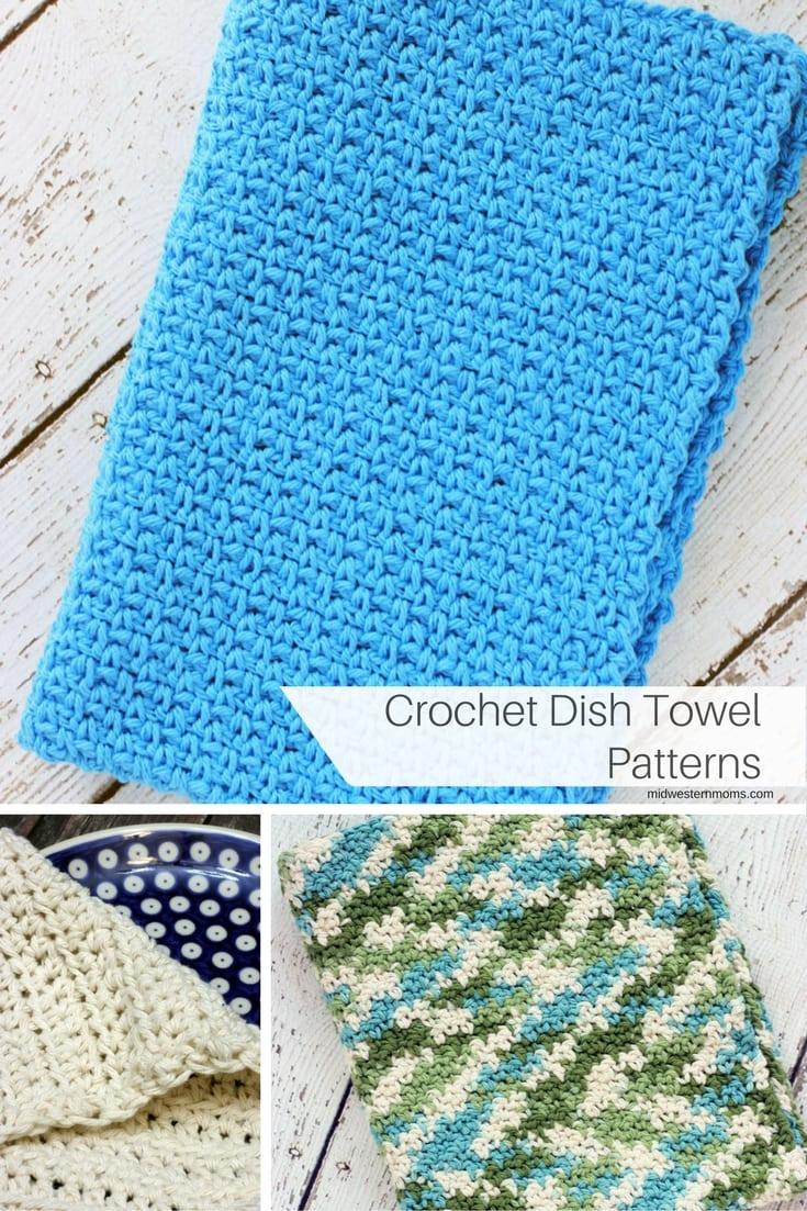 Crochet Dish Towel