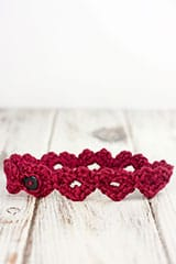 Crochet Heart Crochet Headband Pattern