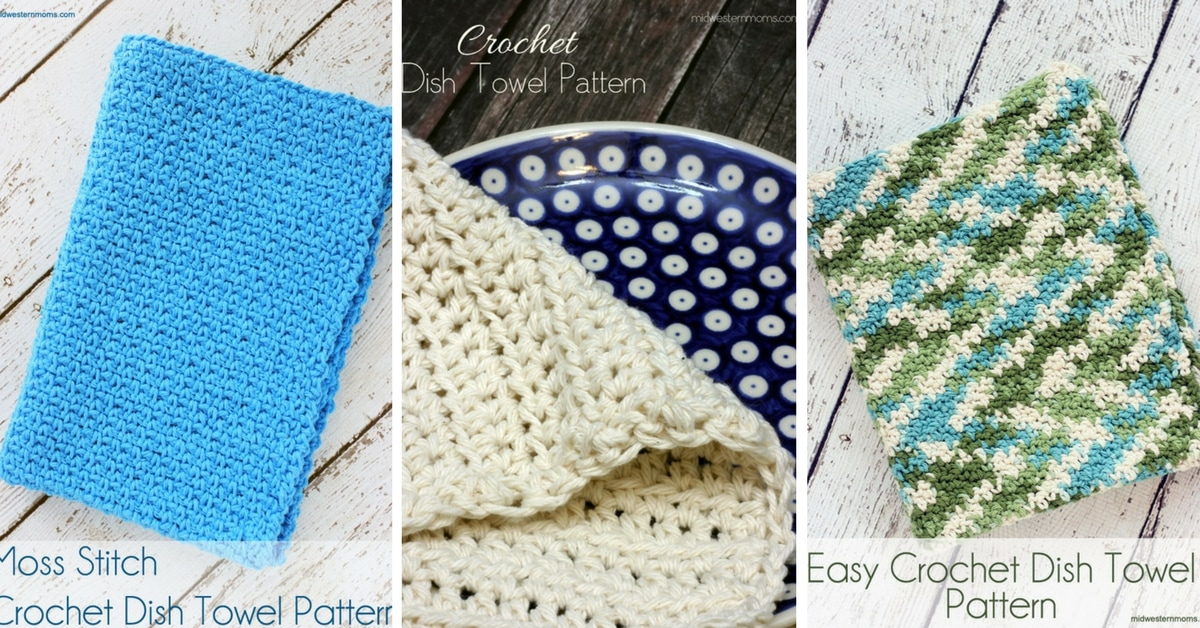 Free Crochet Dish Towel Patterns