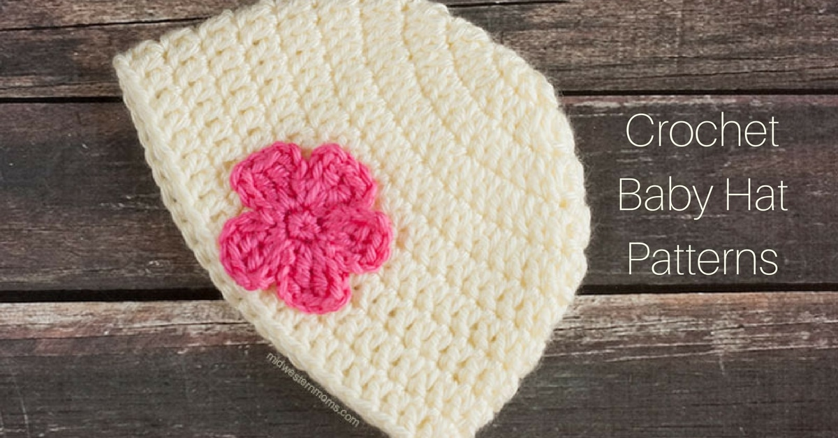 Adorable Crochet Baby Hat Patterns