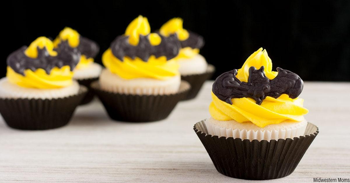 Batman Cupcakes Recipe