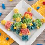 LEGO Rice Krispie Treats Recipe – MiniFig Edition
