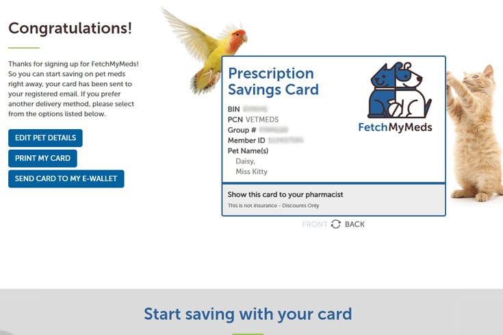 Fetch My Meds Discount Card