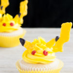 Cute Pikachu cupcakes that are perfect for a Pokemon Birthday!