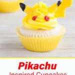 Pikachu cupcakes