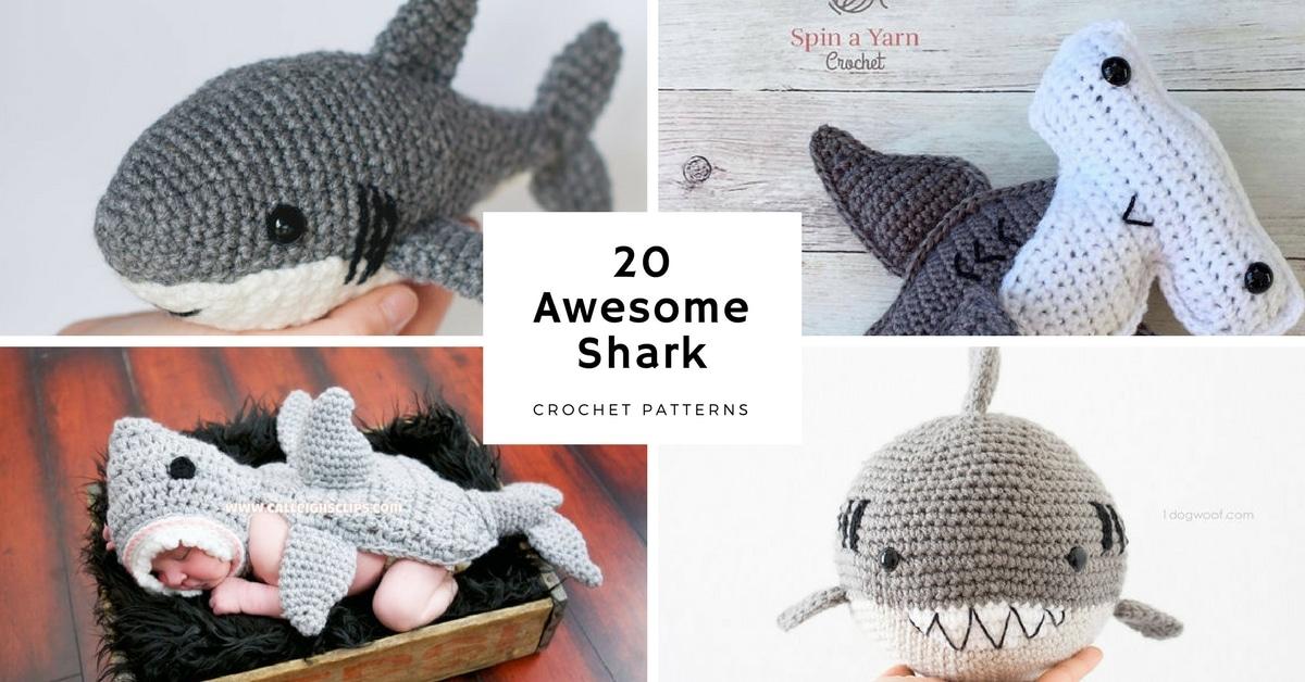 Awesome Shark Crochet Patterns