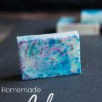 Homemade Galaxy Soap