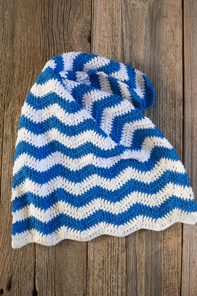 Free Ripple Crochet Dish Towel Pattern