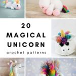 20 Unicorn Crochet Patterns