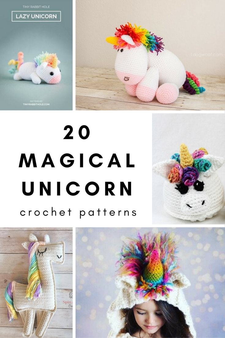 20 Magical Unicorn Crochet Patterns