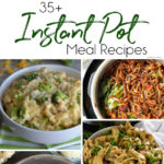 Collage of instant pot meals