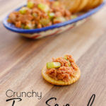 Crunchy Tuna Sriracha with Crackers