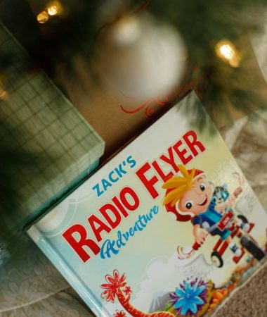 Personalized Radio Flyer Adventure Book makes a perfect Christmas Gift this year!