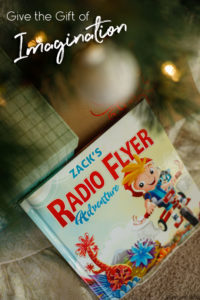 Give the gift of Imagination this Christmas with a Personalized Radio Flyer Adventure Book!
