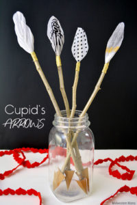 DIY Cupid's Arrows