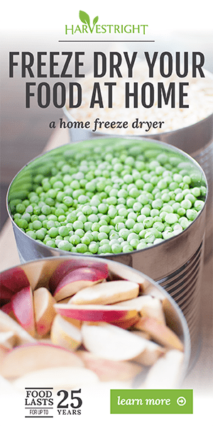 Harvest Right | Freeze Dryers | Freeze Dried Food Storage