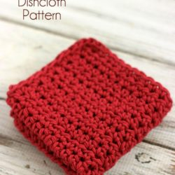 Half Double Crochet Dishcloth Pattern