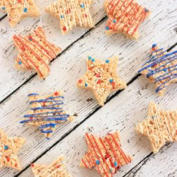 4th Of July Rice Krispie Treats