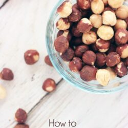 How to Blanch Hazelnuts. Hint: It is pretty easy!